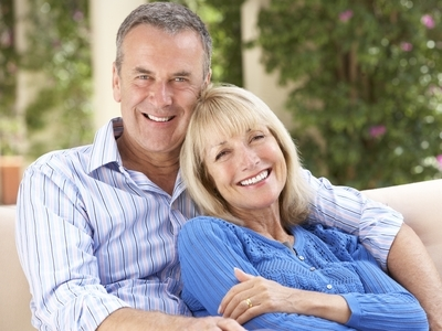 older couple feeling young after Botox at FACD