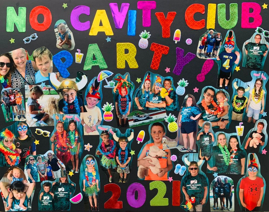 NCC Party Poster 2021
