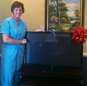 Congrats to Pam Adwell our TV Winner!