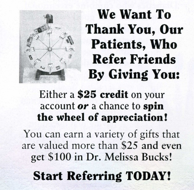 Wheel of Referrals